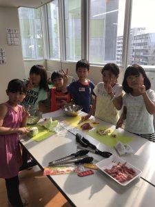 2017夏 お泊り学童保育