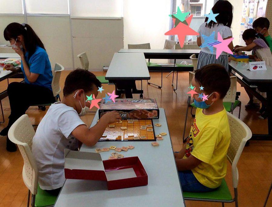 かちがわの杜で好きな自由遊びは将棋