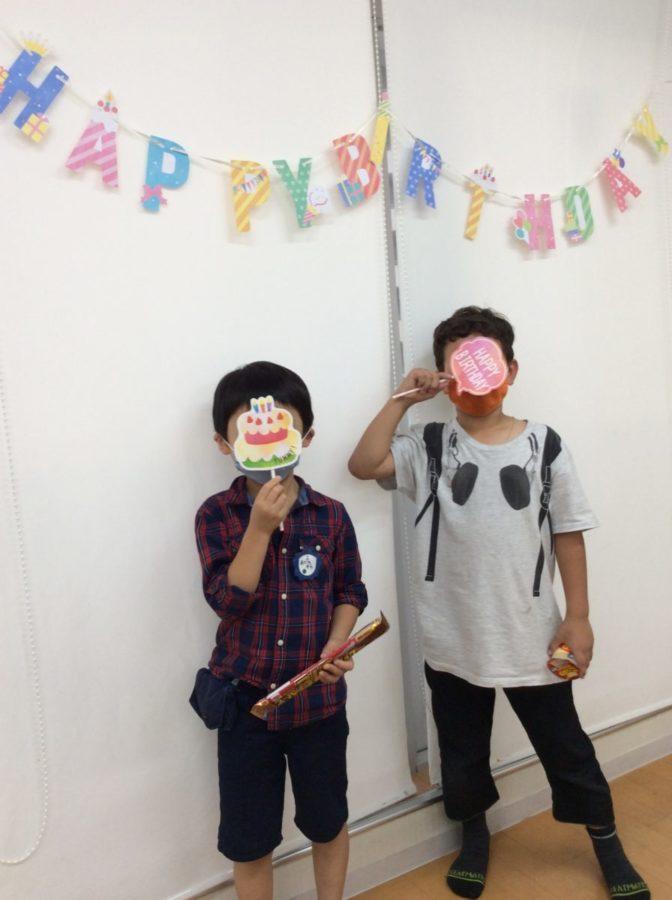9月誕生日会:3年生の女子からのイベント企画