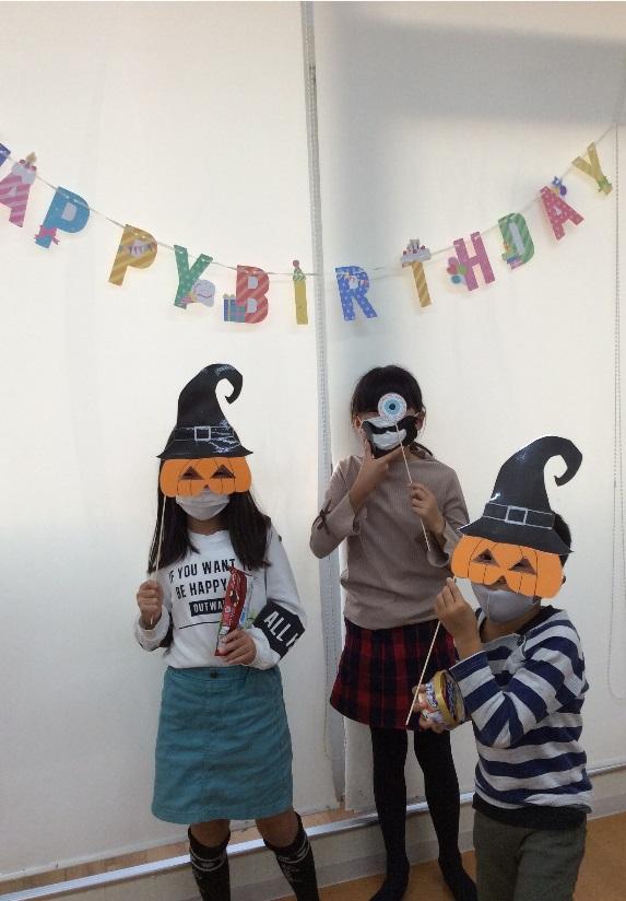10月の誕生日会&ハロウィン!!