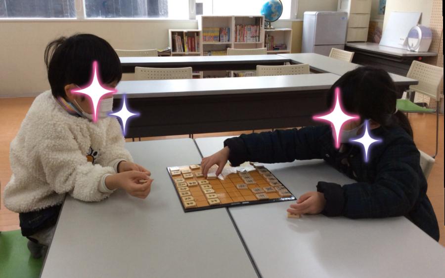1年生同士 世紀の将棋対決!